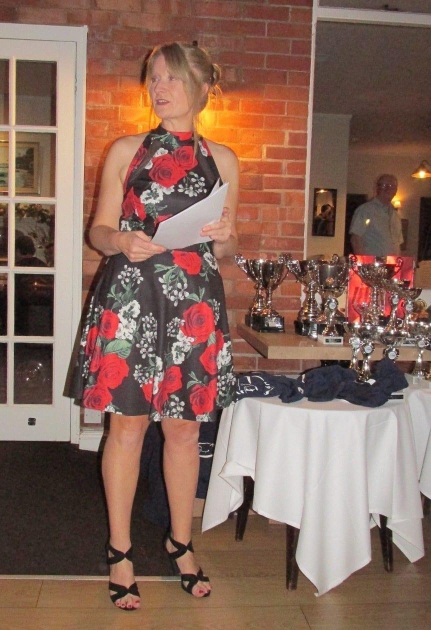 Paula Lawton-Archer hosting the awards