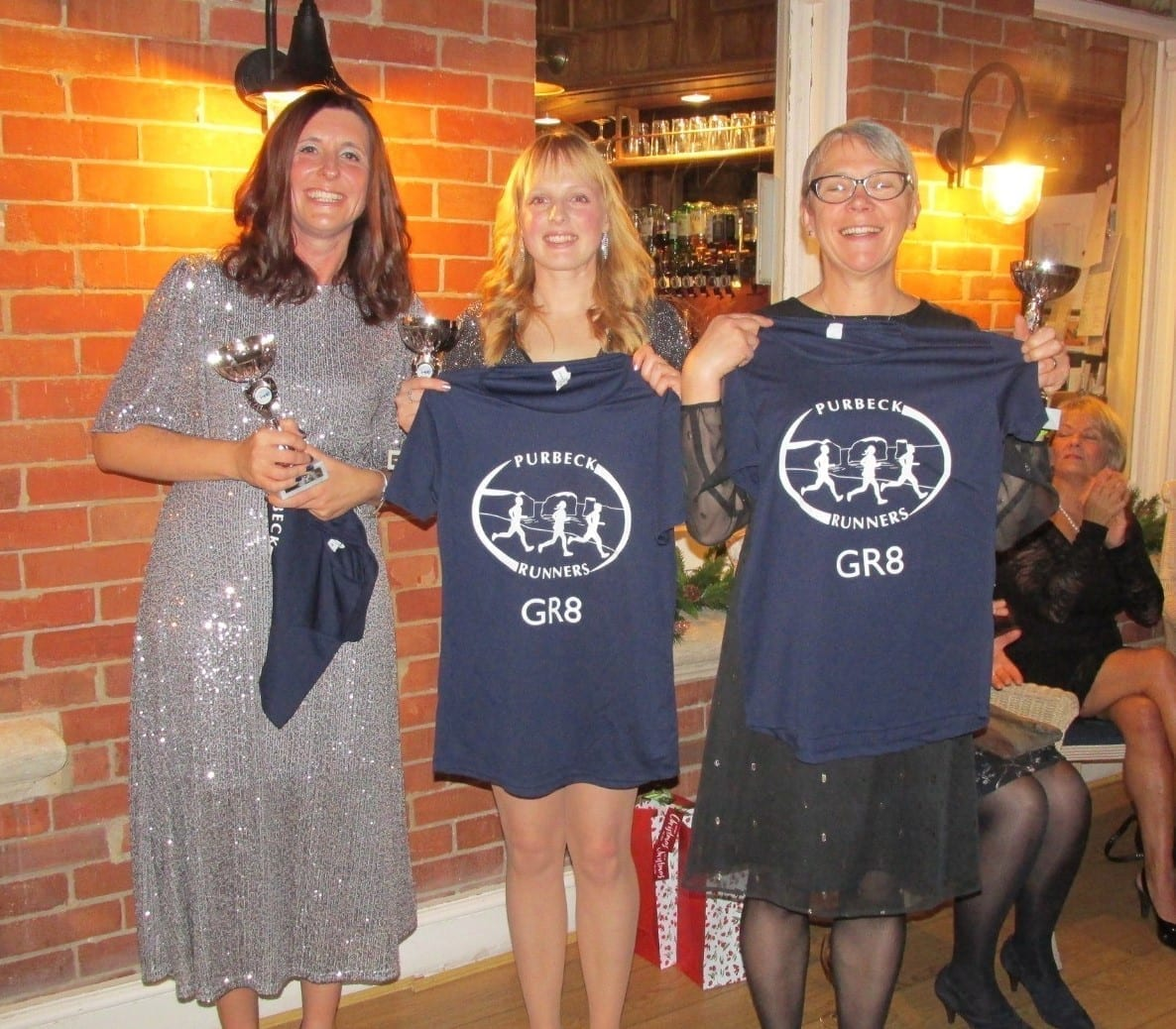 Beccy Spicer, Zoe Pattison and Tracey Coquhoun (L to R)