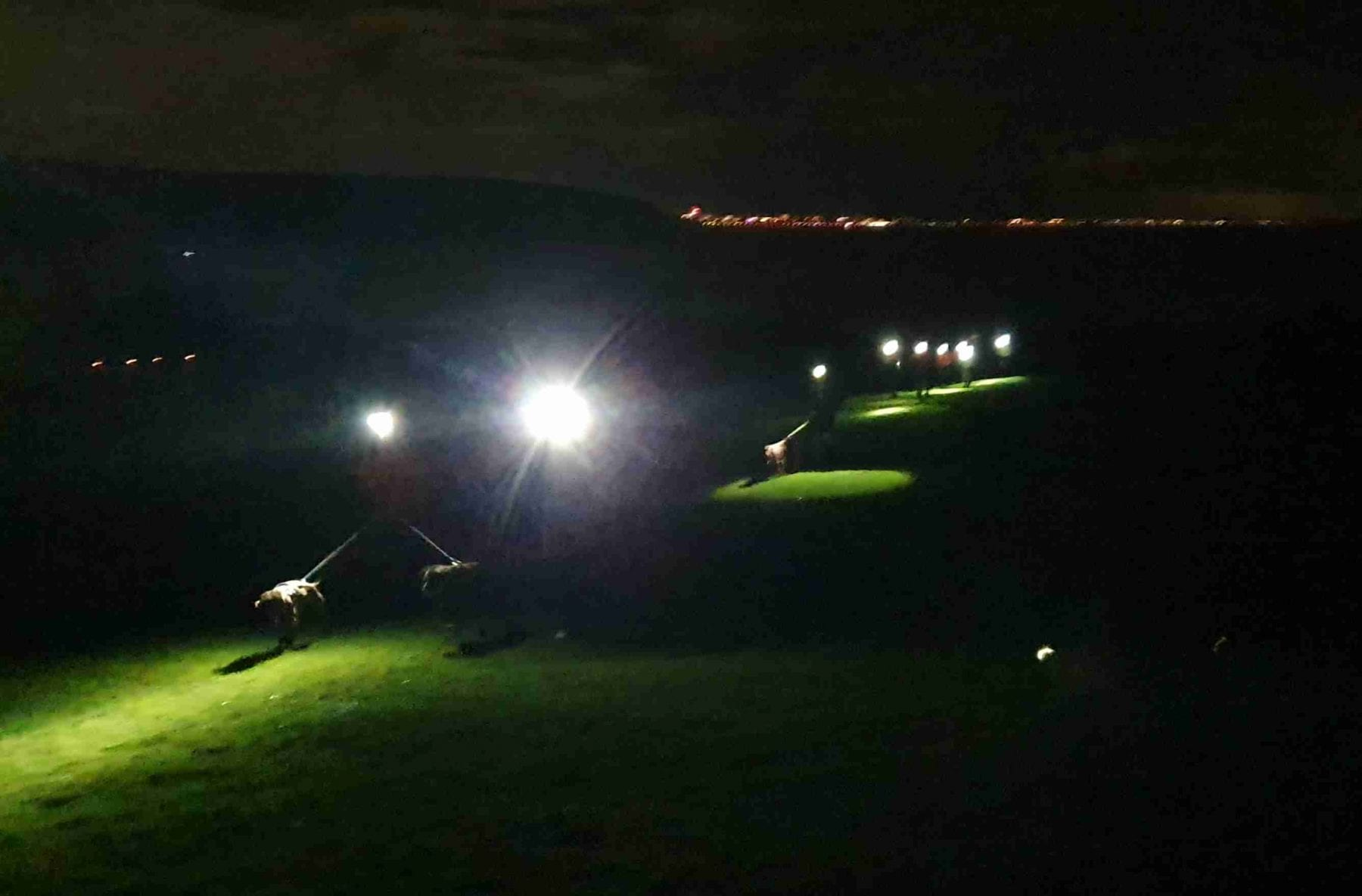 Wednesday night run on the Downs