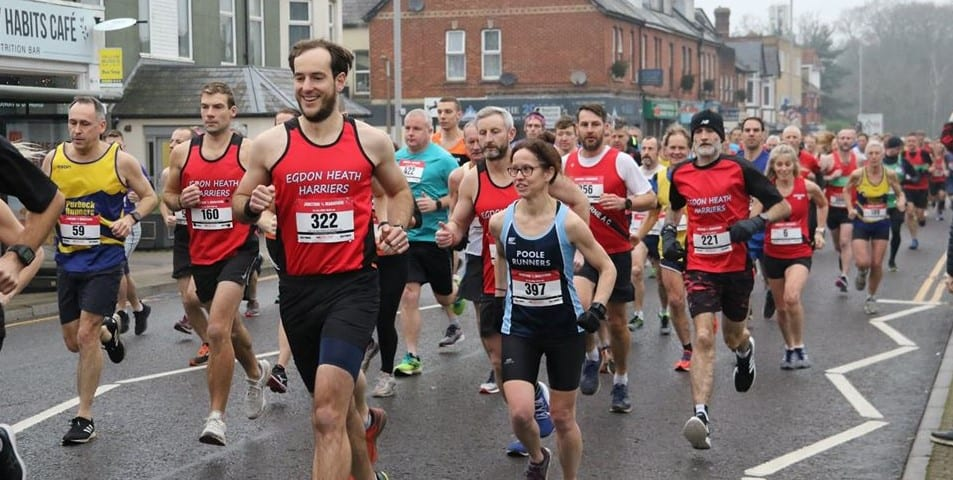 The Dorset Road Race season gets underway at Broadstone with Purbeck Runners well in the mix