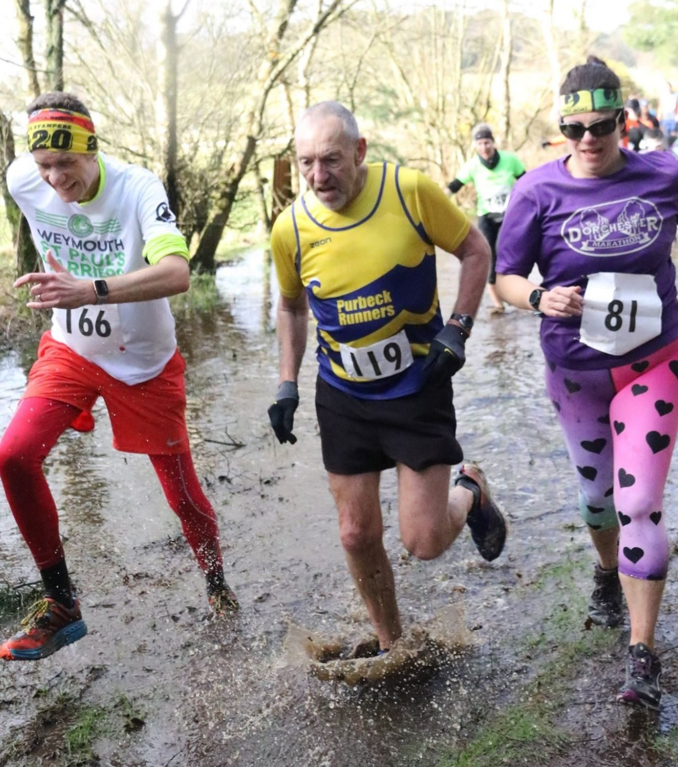 Martin Grimsdale competing in the Sika Trail 10k