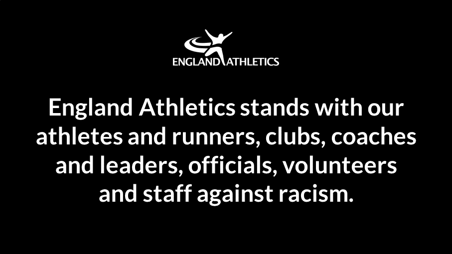 The Purbeck Runners fully support the statement by England Athletics